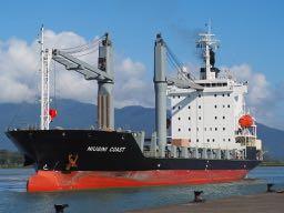 Niugini Coast returns from dock